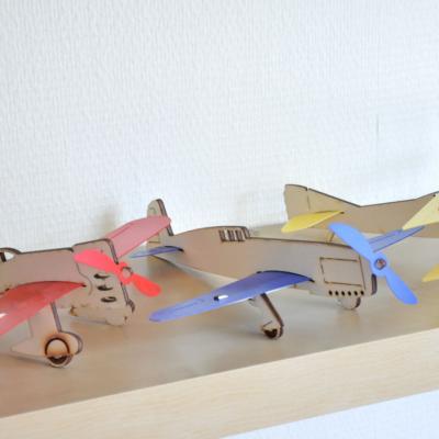 avions en bois fabriqués en France
