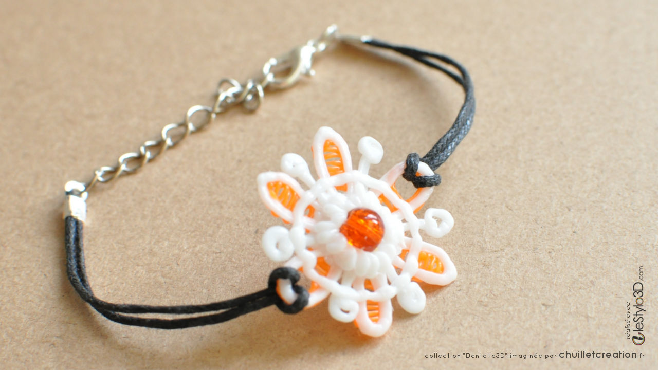 Bijoux lotx3 f01 orange 03 bracelet