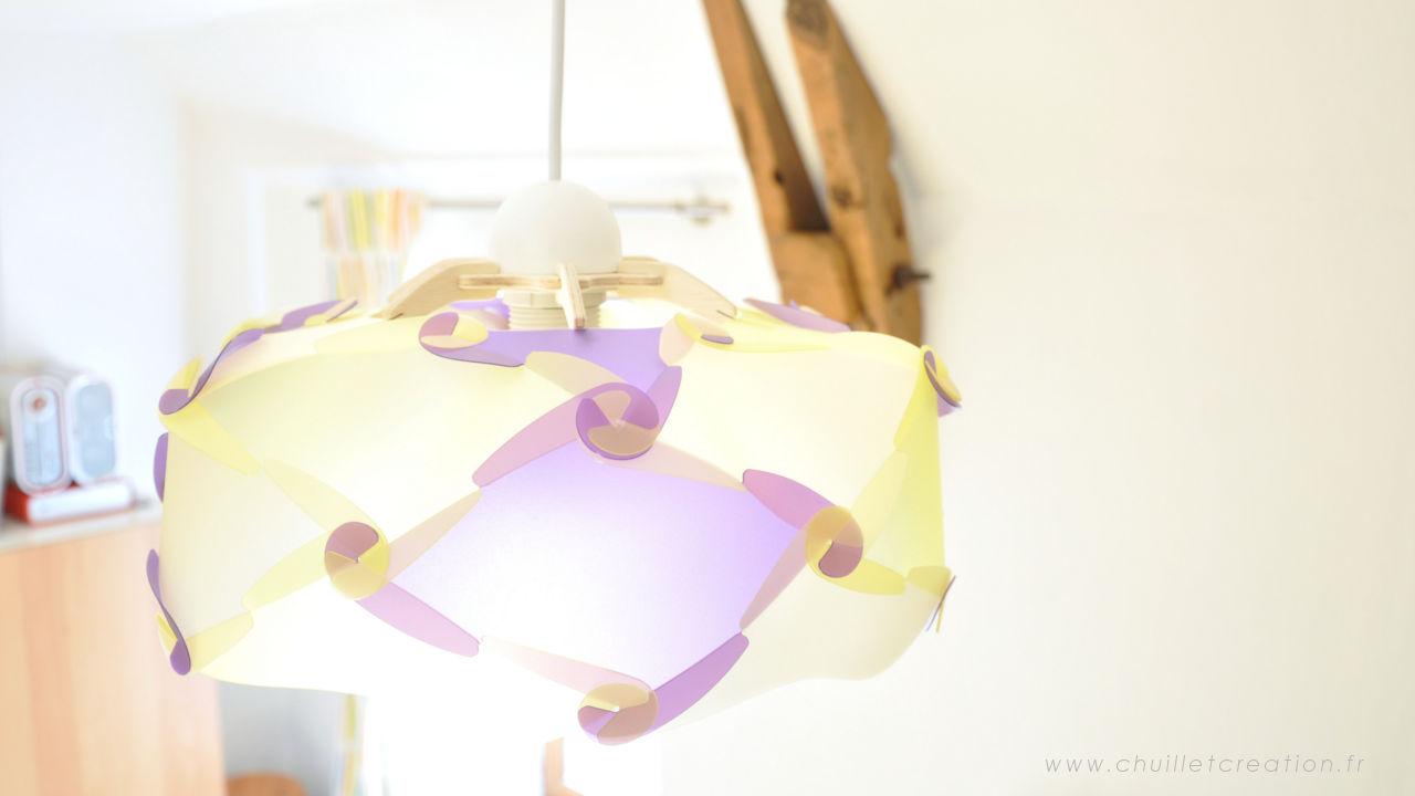 Pulz 6126 -jaune et violet