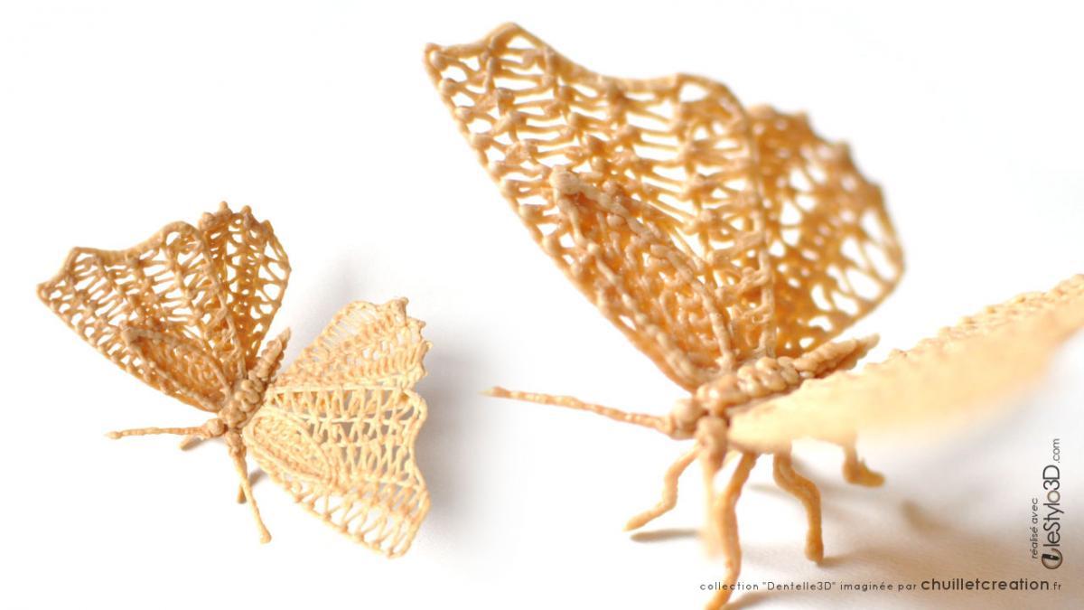 Papillon 3d bois img02